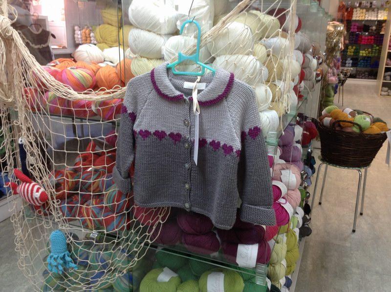 芬兰毛线店儿童毛衣